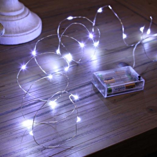 new concept fae5b 70cb8 Bright White LED String Lights